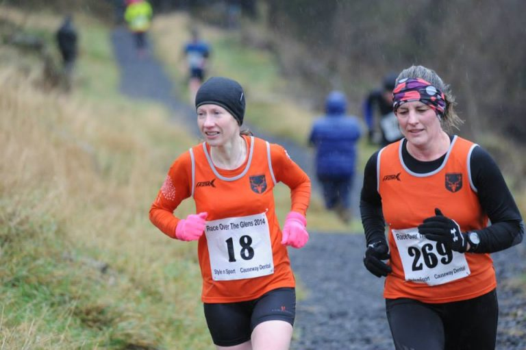 Liz Leitch & Lisa Fleming - Photo by NiRunning