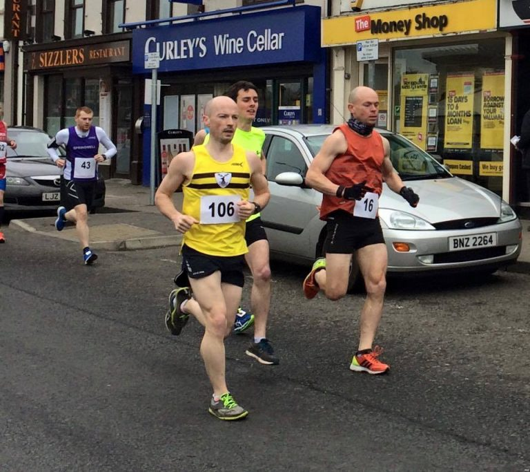 Thomas Leitch at the Magherafelt Harriers 10k Classic - Photo by Anne smith