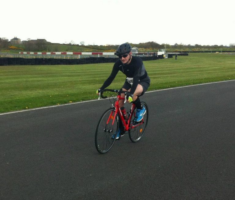 Martin O'Brien at the Bishopscourt Duathlon