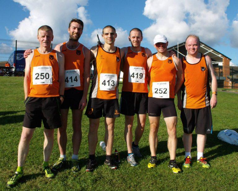 L-R: Brian Todd, Graeme McNabb, John Craig, Stephen Orr, Thomas Leitch and Michael O'Donoghue.
